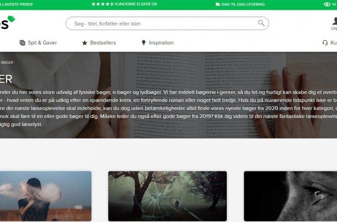 Danska nätbokhandeln Tales.dk planerar både lansering av en egen streamingtjänst och expansion till den svenska marknaden. Bild: Skärmdump.