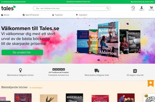 nätbokhandeln Tales.se