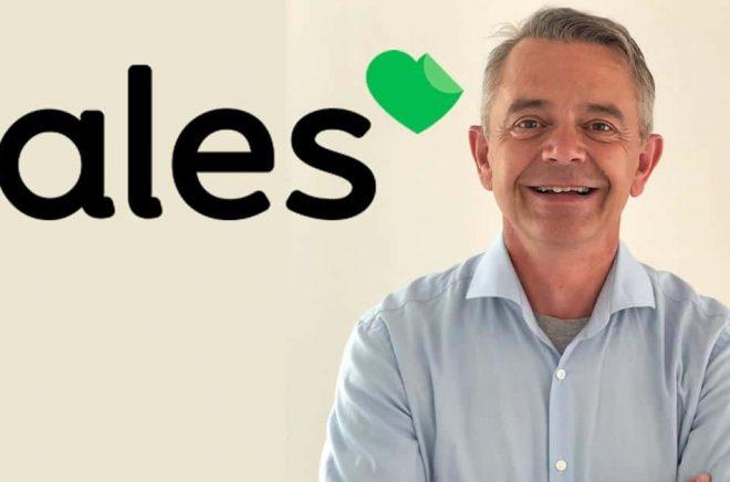 Thomas Schnoor, VD på Tales.se som lanserar sin nätbokhandel i Sverige den 1 september 2021. Foto: Pressbild.