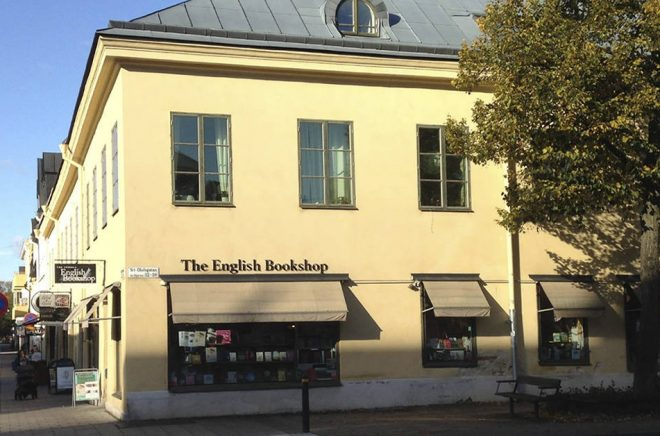 The English Bookshop i Uppsala. Foto: Jan Smedh