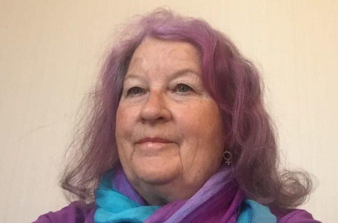 Tina Olby, aktivist och författare. Foto: Privat