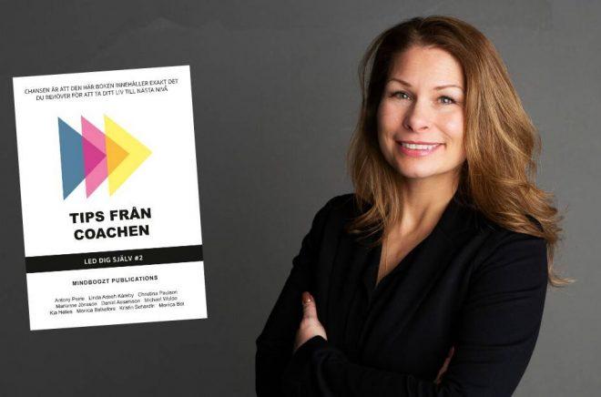 Camilla Gyllensvan, vd för Mindboozt Publications och initiativtagare till bokserien Tips från coachen. Foto: Pressbild