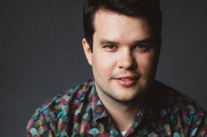 Författaren Tobias Söderlund. Foto: Kajsa Göransson