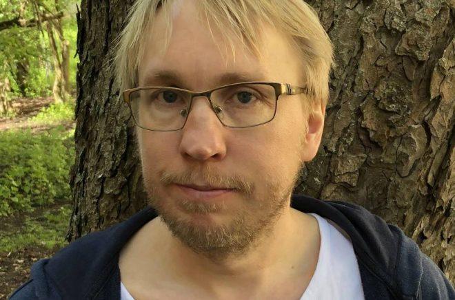 Egenutgivaren Tomas Kindenberg vann Selmapriset 2020 för bästa egenutgivna bok (under 2019). Foto: Privat