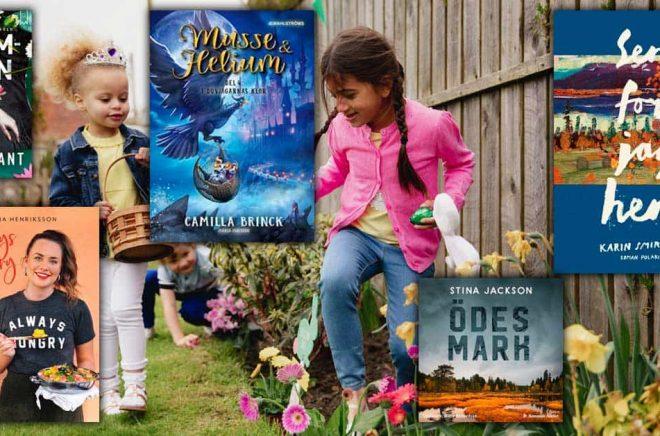 De mest sålda böckerna i Sverige under april 2020. Foto: iStock. Montage: Boktugg.