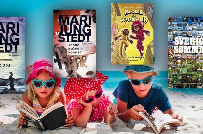 De mest sålda böckerna i juni 2020. Foto: iStock. Montage: Boktugg.