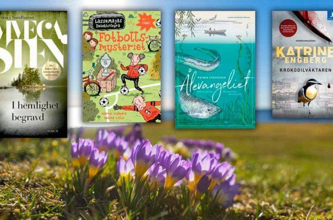 De mest sålda böckerna i Sverige under mars månad 2020. Foto: iStock. Montage: Boktugg.