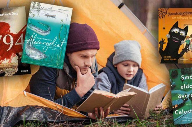 De mest sålda böckerna i oktober 2019. Hur var det med Läslovs-, Halloween- och Augustpriseffekterna? Bakgrundsfoto: iStock. Montage: Boktugg.