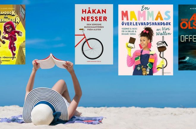De mest sålda böckerna under vecka 32 år 2020. Foto: iStock. Montage: Boktugg.