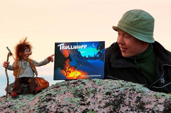Trollihopp - Det stora äventyret, en fotografisk barnbok. Foto: Magnus Emlén