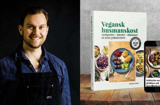 Gustav Johansson, matbloggare och kokboksförfattare. Foto: Simon Bajada