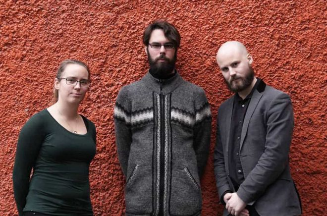 Liv Gingnell, Daniel Albertsson, Johan Jönsson. Foto: Maria Nygård