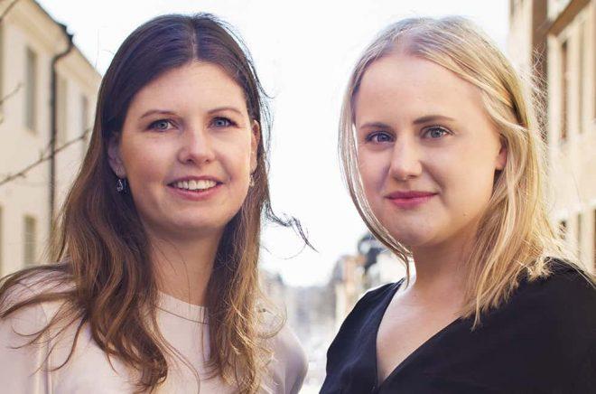 Anja Eriksson och Melina Nordstrand Foto: Vox
