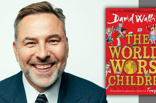 Författaren David Walliams tvingas ändra i sin bok om världens värsta barn (som ännu ej är utgiven på svenska). Foto: Charlie Clift.