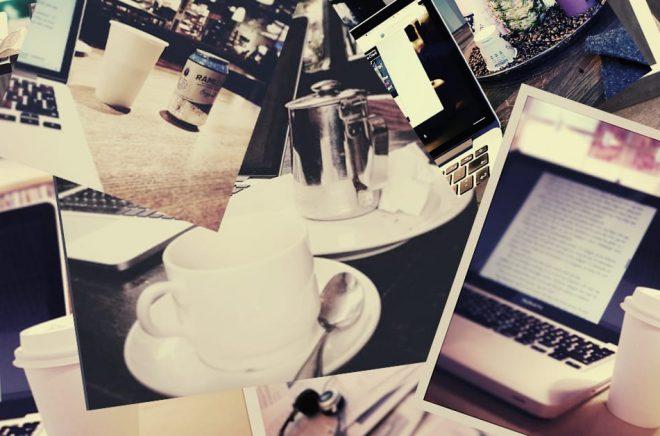 Att skriva på café kan löna sig - men är det bara myten som gör sig påmind?
