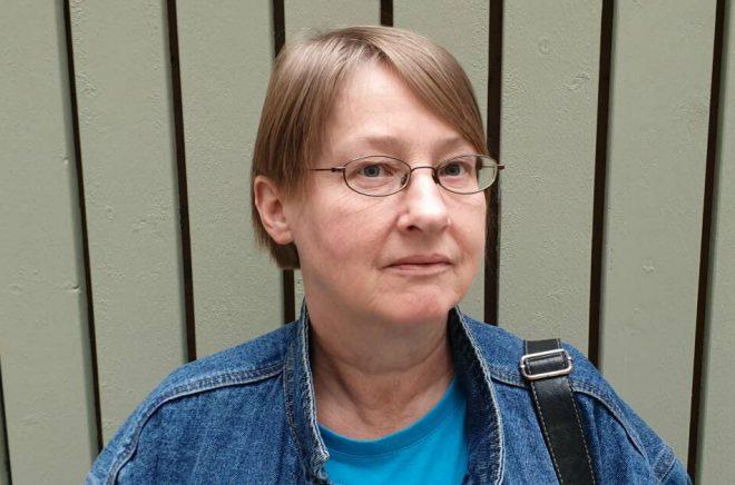 Ylva Spångberg, översättare. Foto: Eva Spångberg